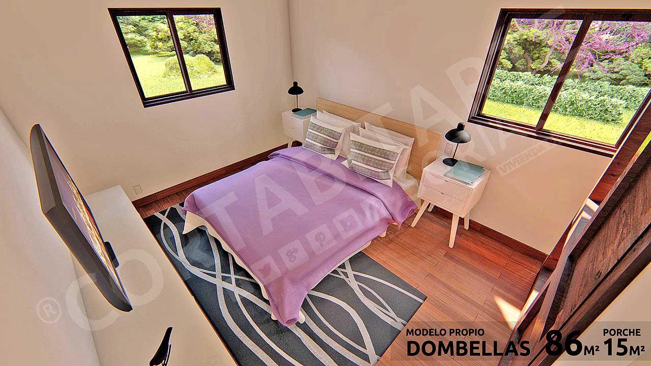 CORTABITARTEsoria · DOMBELLAS · Dormitorio