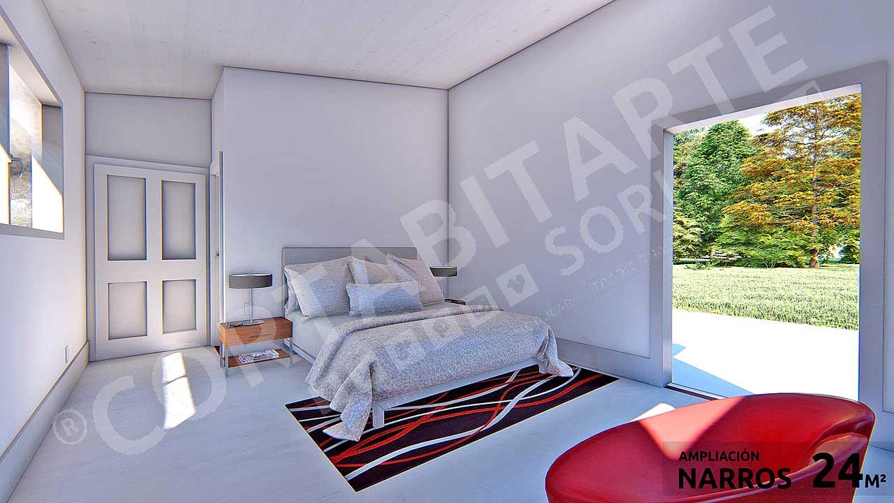 CORTABITARTEsoria · NARROS · Dormitorio