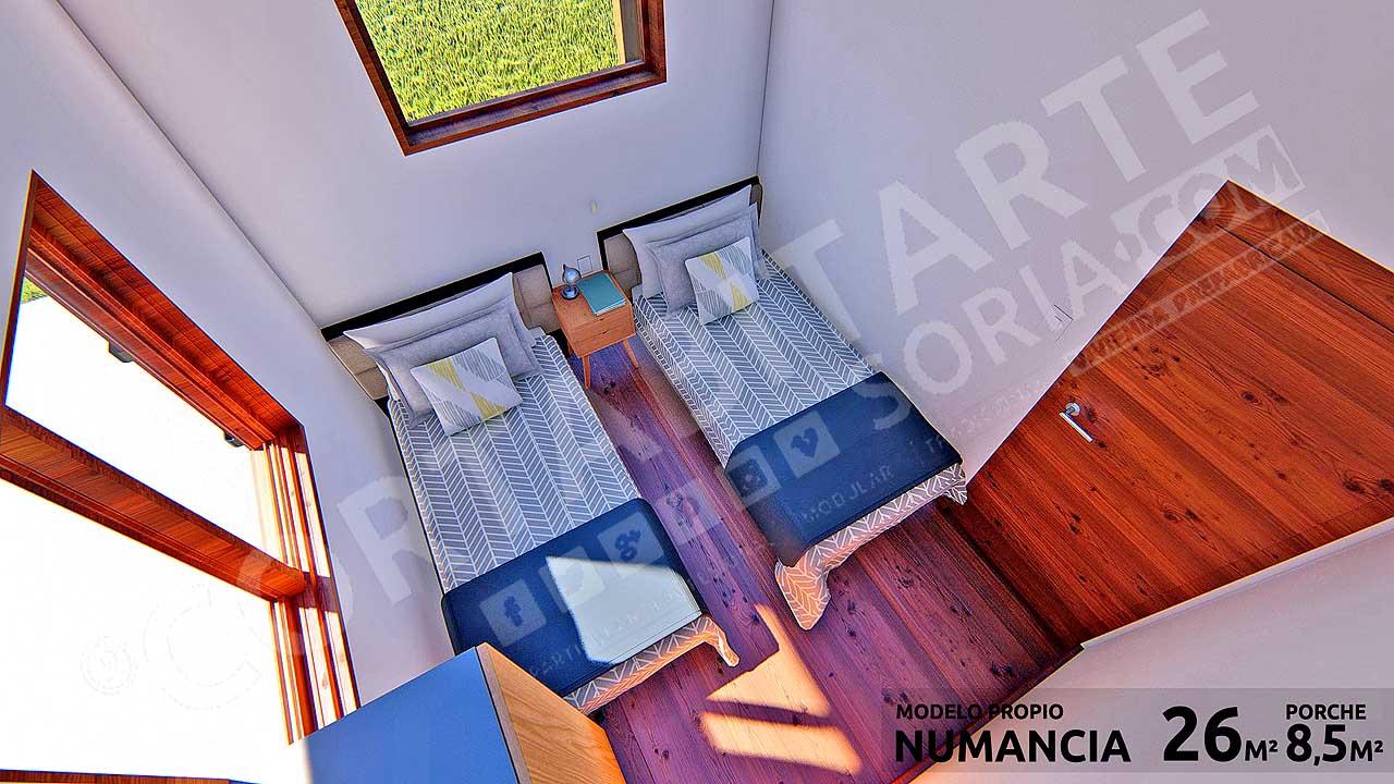 CORTABITARTEsoria · NUMANCIA · Dormitorio