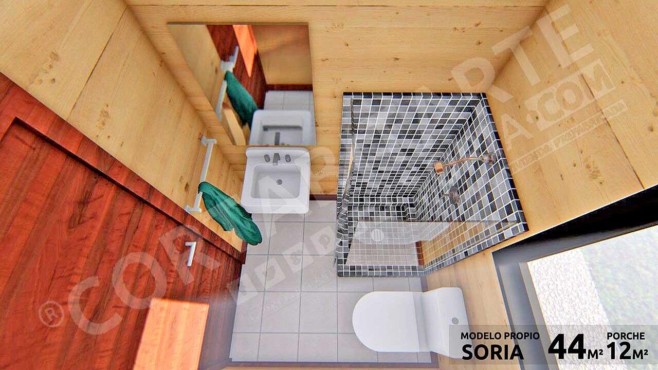CORTABITARTEsoria · SORIA · Baño
