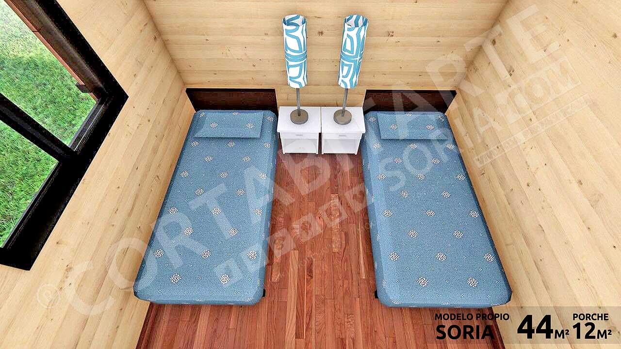 CORTABITARTEsoria · SORIA · Dormitorio2