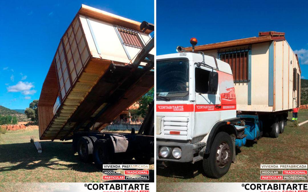 [SO] Soria · Vivienda prefabricada · Traslado